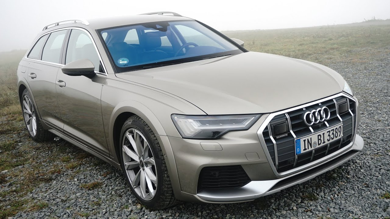 2021 Audi A6 Allroad 55 Tfsi Quattro Stronic Test Drive Review Thegetawayer Youtube