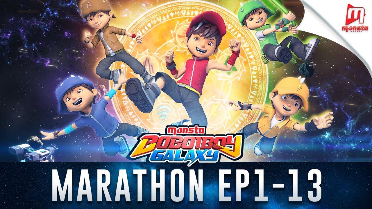 Boboiboy Galaxy Marathon Episod 1 13 Youtube