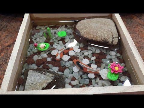 Diy Koi Fish Pond tutorial