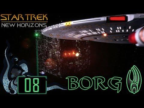 Battle At Kazon - Star Trek: New Horizons (Stellaris Mod) - Borg - #08 - Insane Let's Play
