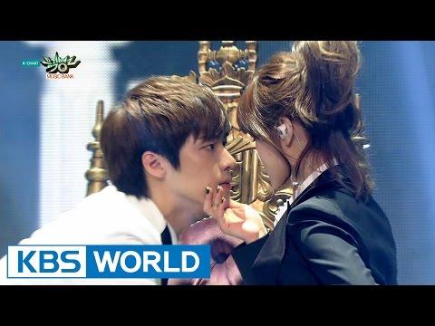 JIMIN N J.DON (지민 엔 제이던) - GOD [Music Bank Unit Debut / 2015.05.01]