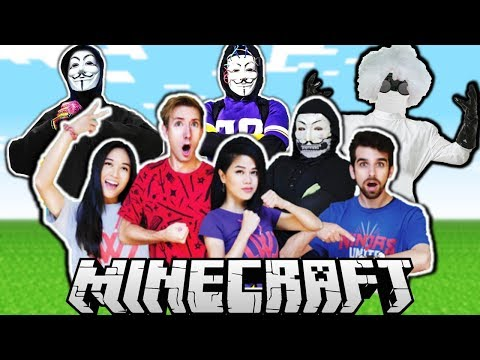 ALL CWC Spy Ninjas In Minecraft - Chad Wild Clay, Vy Qwaint, Daniel, Regina, PZ9 and More!