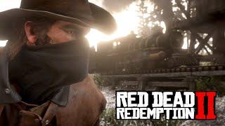 WIELKI NAPAD NA POCIĄG! Red Dead Redemption 2 PC SINGLEPLAYER Hogaty #01