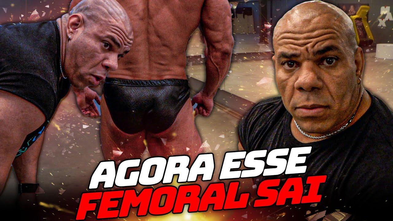 JORLAN PEGOU PESADO NO FEMORAL DO CARLOS