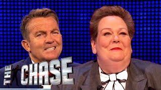 The Governess Has Nuts Caught in Her Throat | The Chase: Bloopers Special
