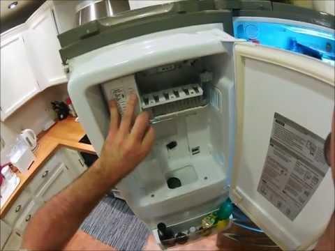 LG Fridge Ice Maker Troubleshoot Repair How To Fix