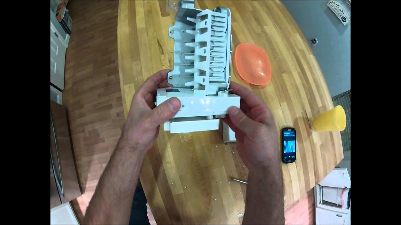 lg fridge ice maker troubleshoot repair how to fix ice maker  [ 1280 x 720 Pixel ]