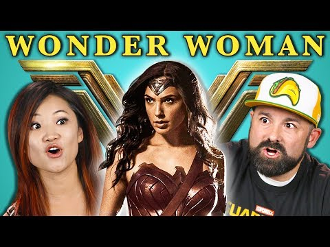Thumbnail: ADULTS REACT TO WONDER WOMAN TRAILER