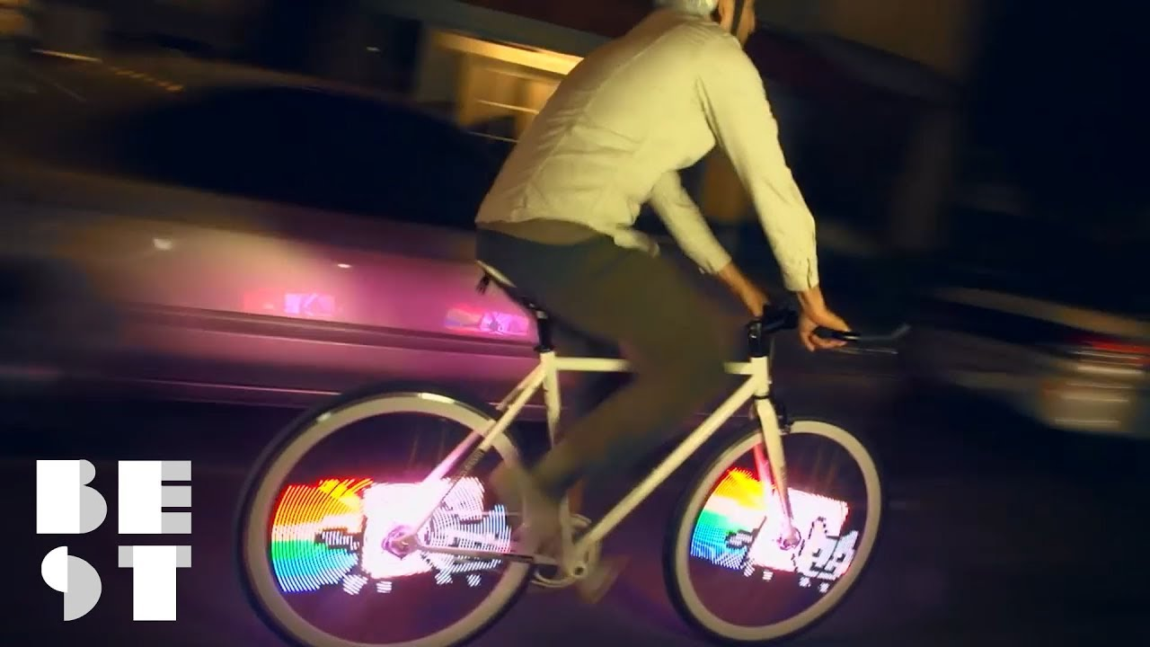 You Need A Nyan Cat Bike Light Best Products Youtube