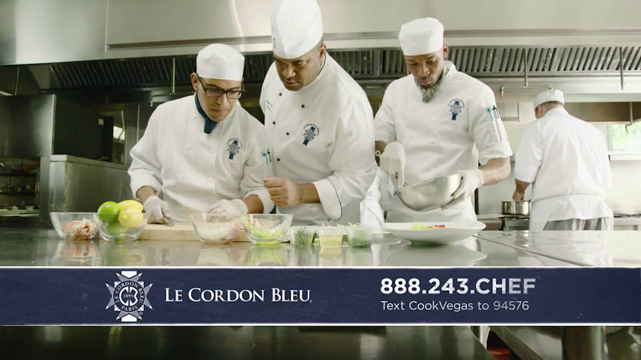 Master Chef Daryl Shular Le Cordon Bleu Commercial - YouTube