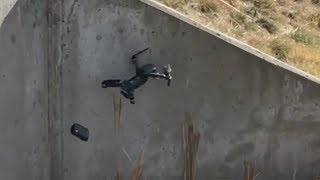 Drone DJI Mavic Pro Crash Compilation 2018