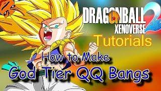 How to Make a God Tier QQ Bang #1  - Dragon ball Xenoverse 2 Tutorials