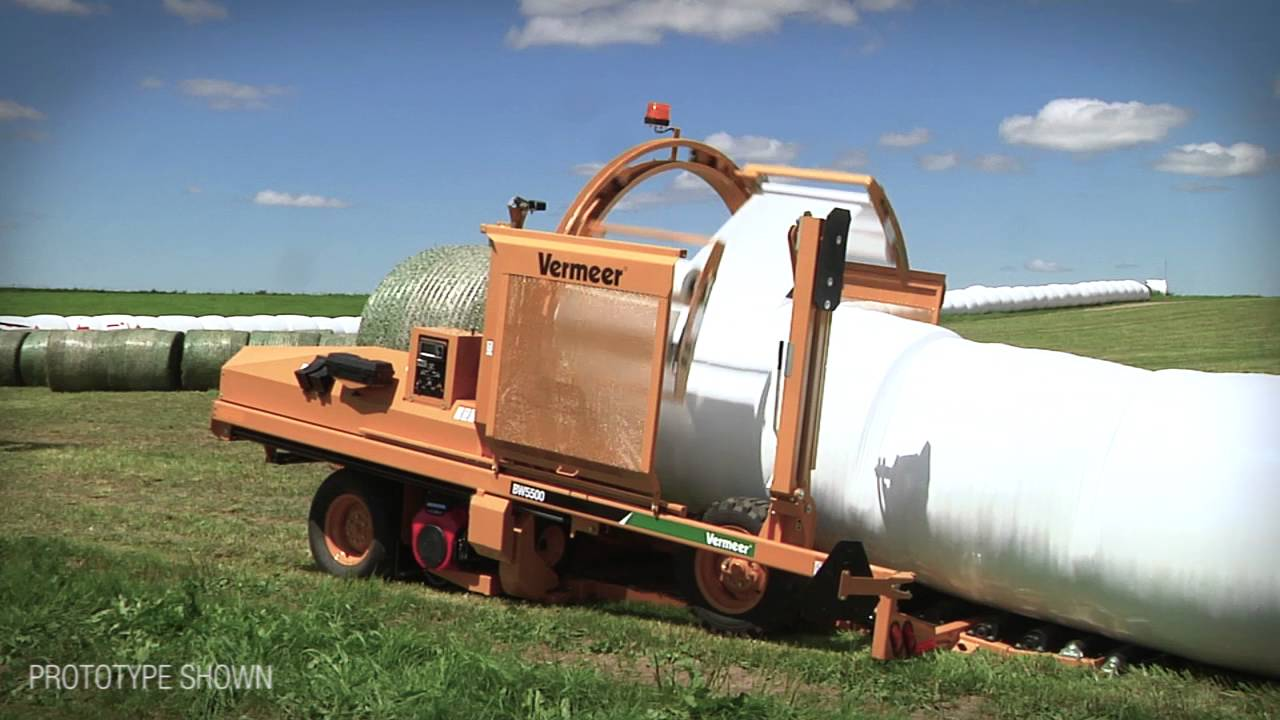 BW5500 Bale Wrapper | Vermeer Agriculture Equipment