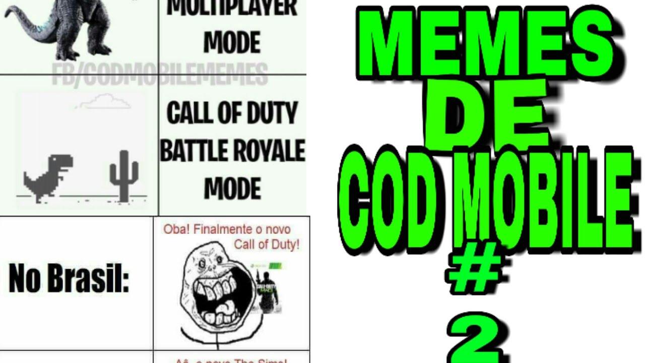Memes Do Cod Mobile 2 Youtube