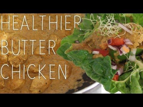 Healthy Butter Chicken Made From Scratch! ♡ Shaaanxo