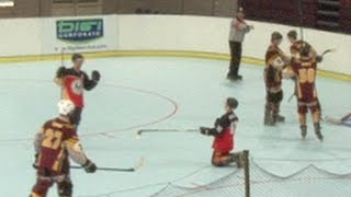 2013 InLine Hockey Nationals U21 RR Queensland v South Australia Game 2
