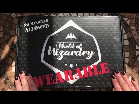 Harry Potter World of Wizardry WEARABLE Subscription Box Unboxing May 2017