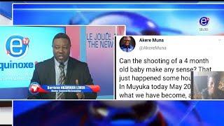 THE 6PM NEWS (Guest: Barr NKAMWA LEMEN) TUESDAY 21st MAI 2019 - EQUINOXE TV