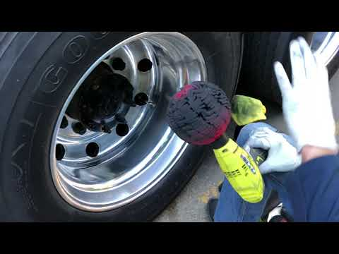 How to polish aluminum wheels and what products I use