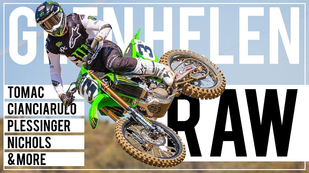Pro Motocross Practice RAW at Glen Helen Raceway - Motocross Action Magazine