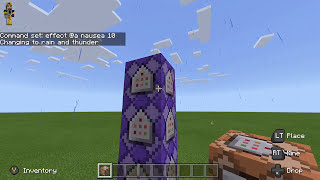 How to make a tornado in Minecraft