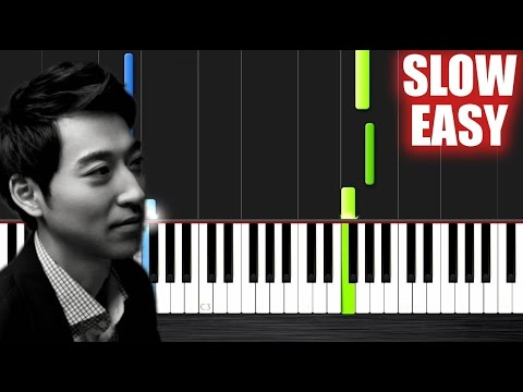 Yiruma - Kiss The Rain - SLOW EASY Piano Tutorial by Peter PlutaX