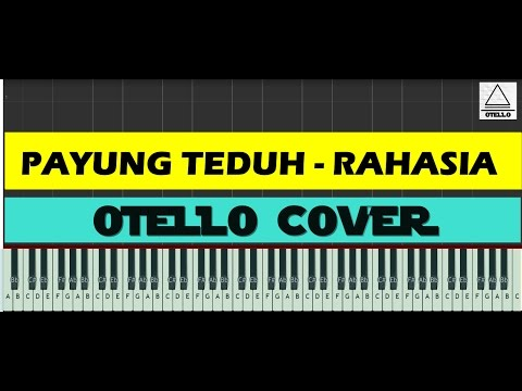 Payung Teduh - Rahasia Cover Piano Tutorial + Lyrics (cc)