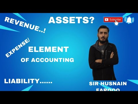 Elements of accounting | assets | expenses | liability | House of Commerce