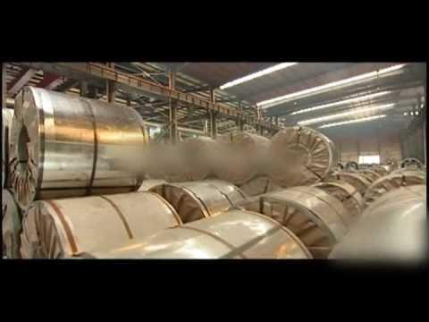 Обработка рулонной оцинкованной стали