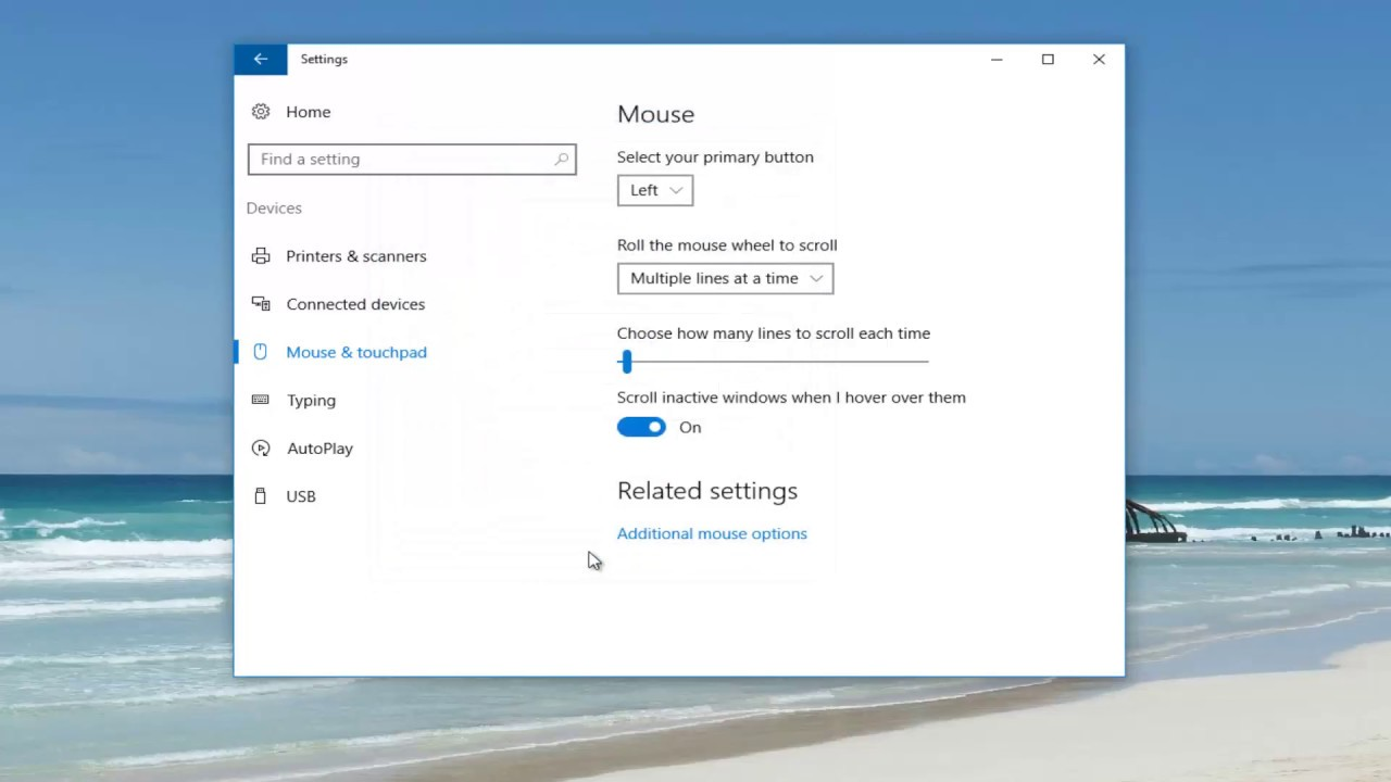 How To Disable Pinch Zoom On Windows 10 - YouTube