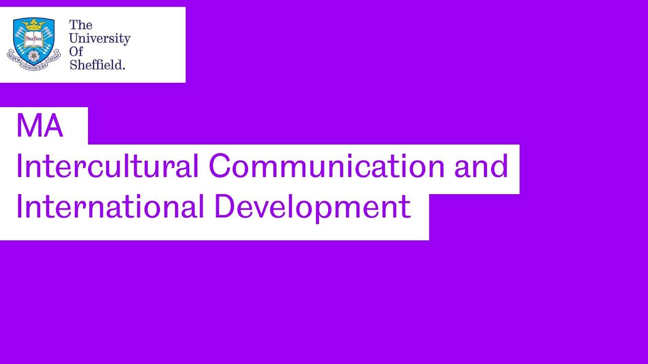 Intercultural Communication and International Development MA