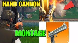 Fortnite Hand Cannon Montage Hand Cannon Best Moments & Kills Hand Cannon OP? Fortnite Battle Royale