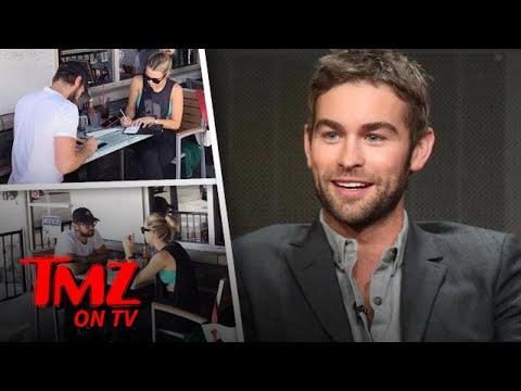 Chase Crawford and GF Rebecca Rittenhouse Go Dutch  TMZ TV