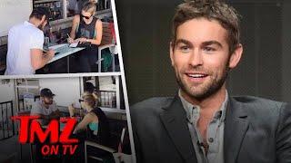 Chase Crawford and GF Rebecca Rittenhouse Go Dutch | TMZ TV