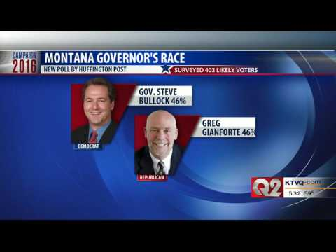 Q2 News: MT Gov Race Tied According to Poll