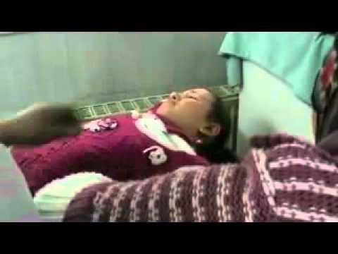 شام حمص باب السباع اصابة طفلة برصاص الشبيحة
