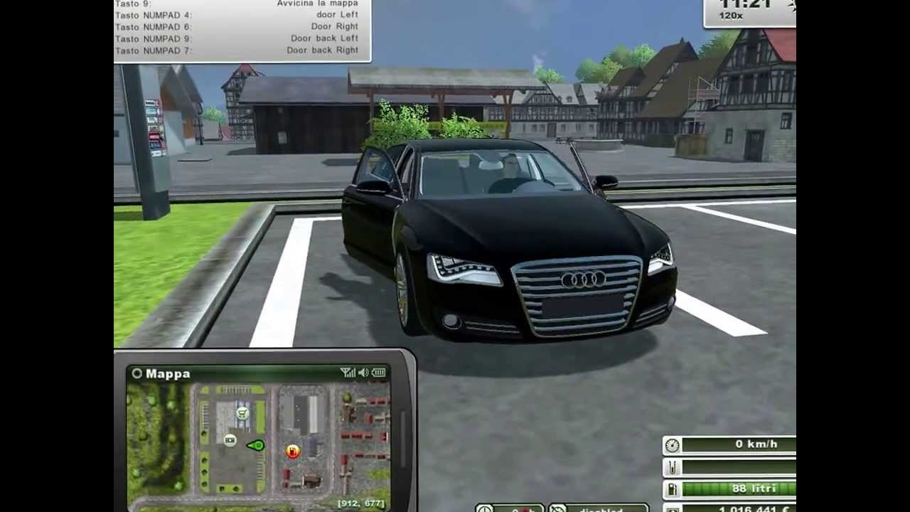 farming simulator 2013 audi a8 youtube. Black Bedroom Furniture Sets. Home Design Ideas
