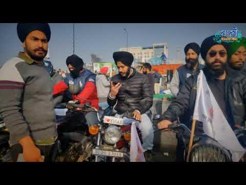 Bike-Rally-D-A-V-College-Sri-Niwaspuri-To-Ghazipur-Border-10-Jan-2021