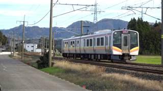 〔4K UHD|cc〕JR東日本・信越本線:安田~茨目駅、E129系2B/走行シーン。