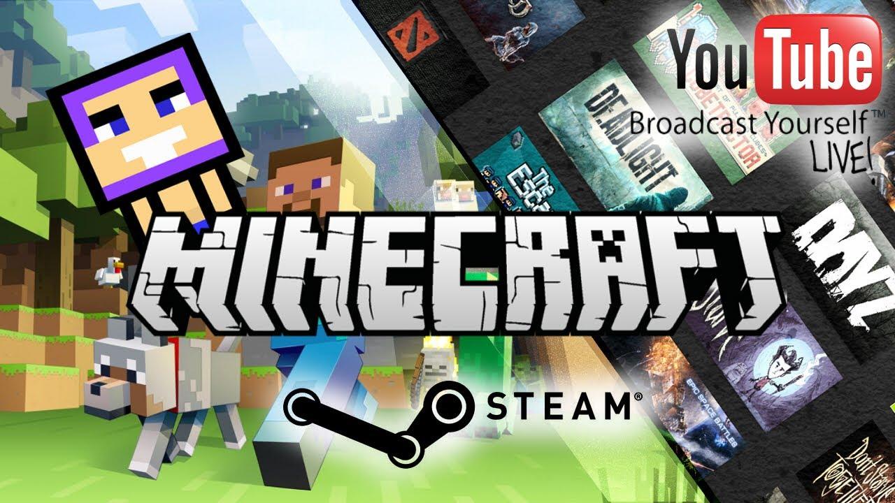 Minecraft/Steam Game直播 - 2015/10/18 #1 - YouTube
