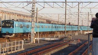 【JR東日本】京葉線201系 南船橋駅発車