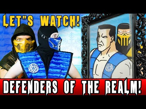 REAL MORTAL KOMBAT REACTS - Defenders of the Realm Episode 1