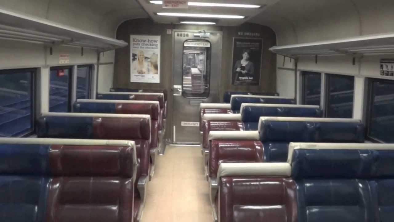 Interior Tour of Budd M2 Railcar - YouTube