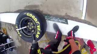 NASCAR tire changer Kyle Symington POV