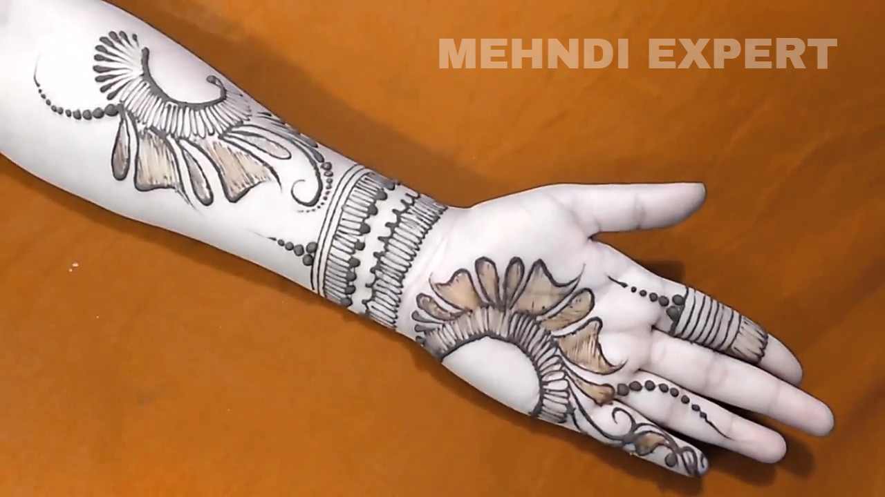 Mehndi design 2017 new style - New Modern Style Arabic Mehndi Or Henna Design For All Occasions 2017 Step By Step Tutorial 4