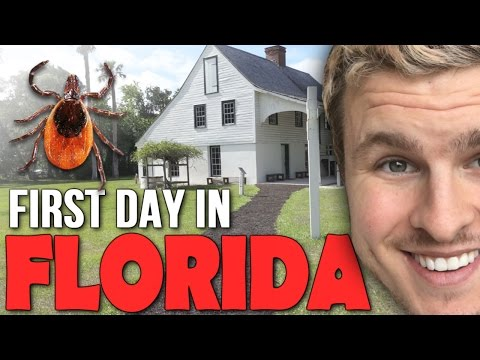 FIRST TIME IN FLORIDA AND I GOT TICKS!?