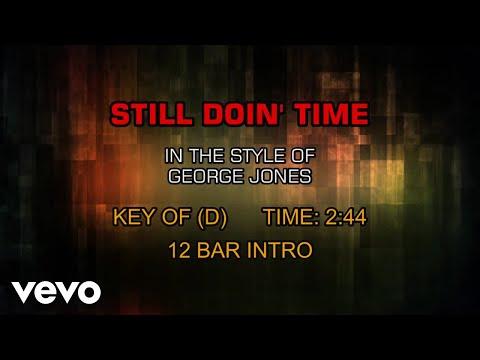 George Jones - Still Doin' Time (Karaoke)