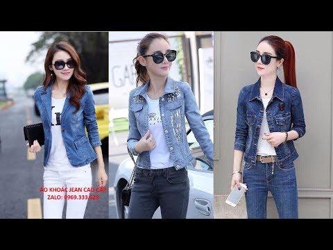 Áo Khoác Jeans Nữ 2019-2020 Cao Cấp đẹp Nhất TPHCM , Giảm Giá 20%. Xem Ngay