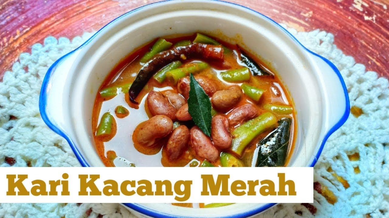 Resep Kari Enak I Resep Kari Kacang Merah I Red Beans Curry Recipe I Curry Recipe Indian - YouTube