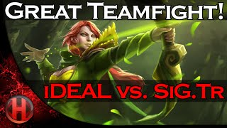 iDEAL vs. SiG.Tr - Great Teamfight! Dota 2 SLTV 13